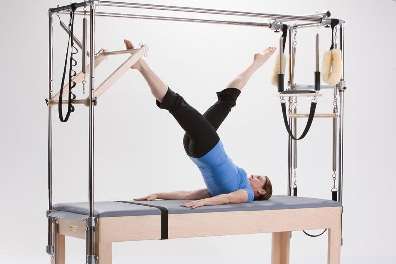 "The ""Cadillac"" Pilates apparatus"